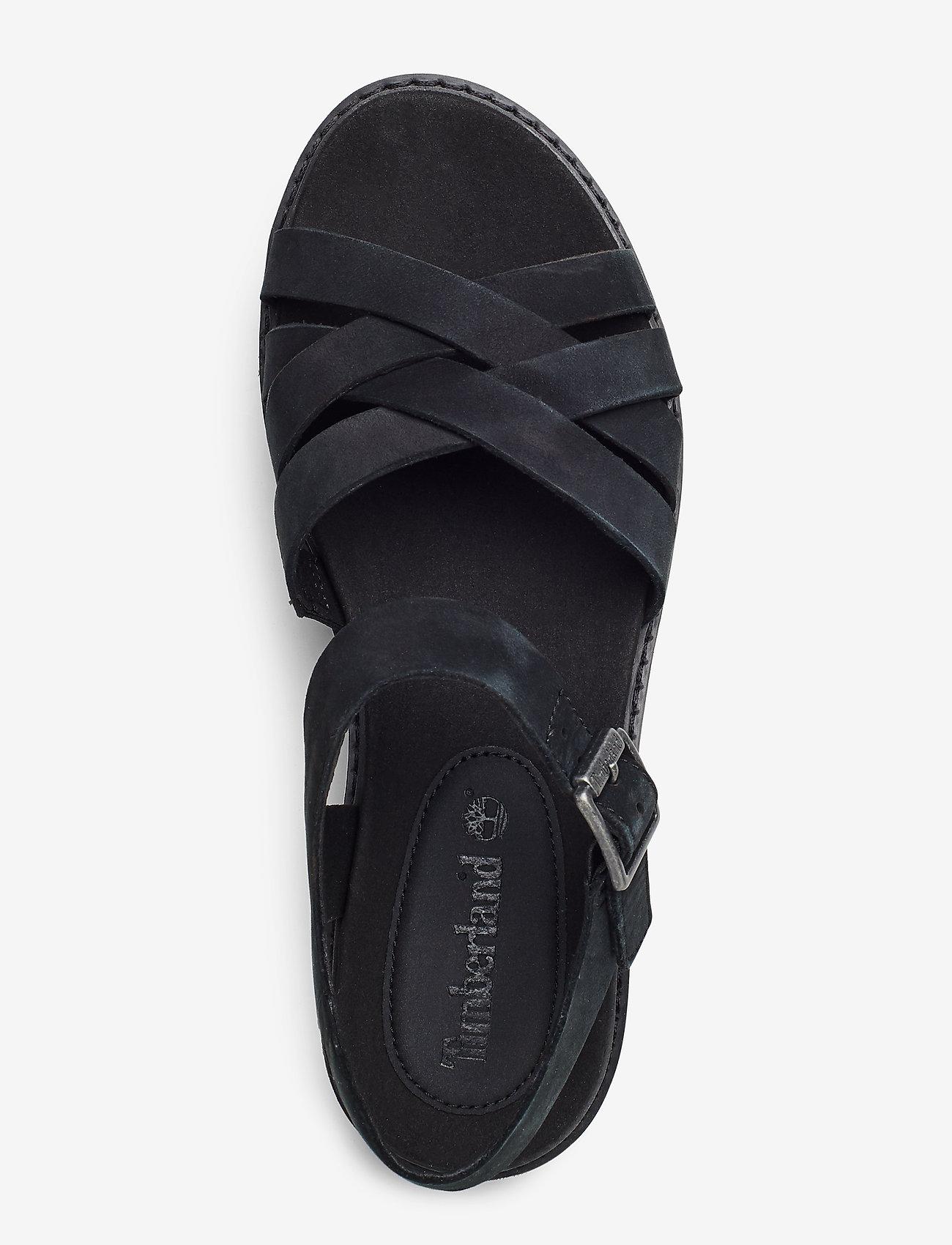 Safari Dawn Multi-strap Sandal (Jet Black) - Timberland
