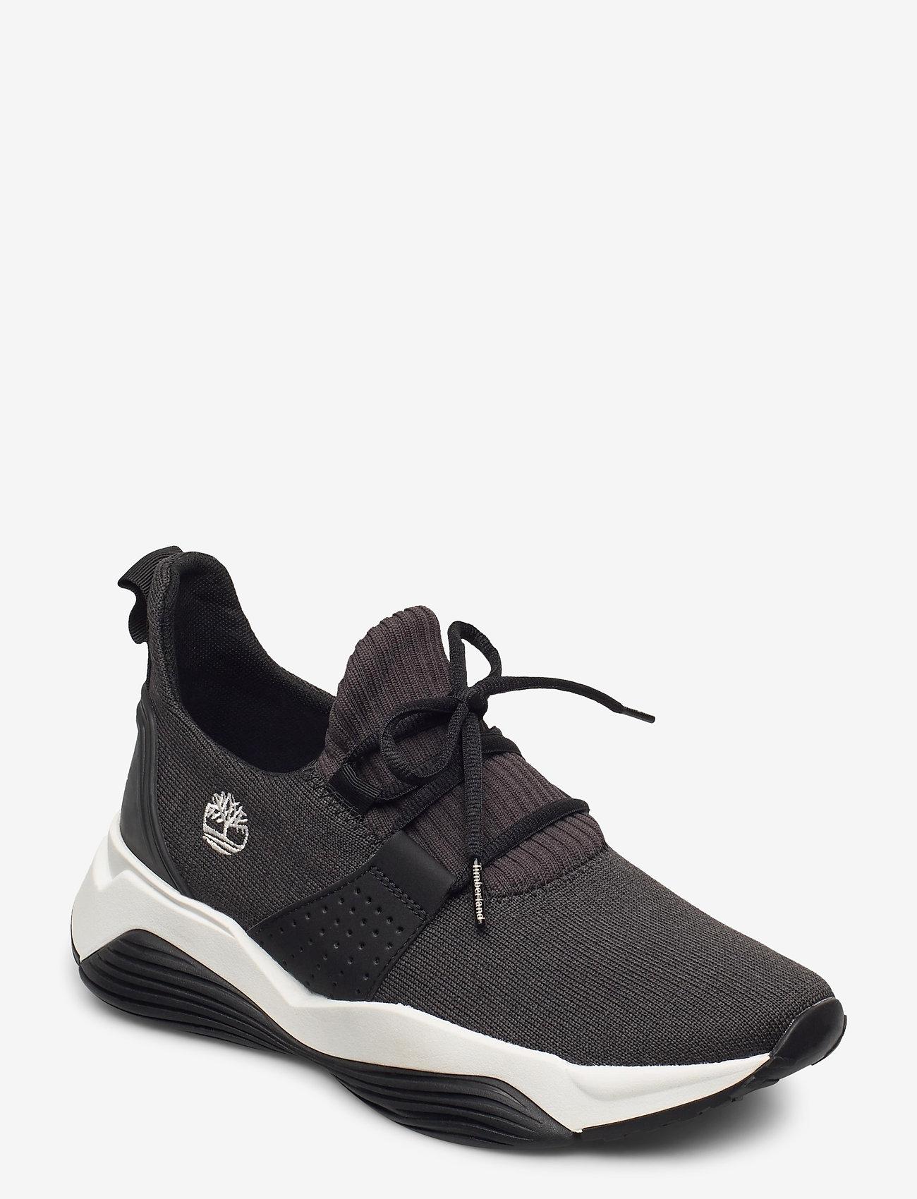 Timberland - EMRLD BAY KNIT BLK - lage sneakers - black - 0