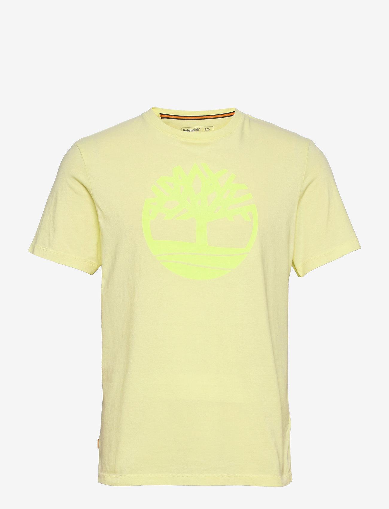 Timberland - Kbec river tree tee - t-shirts à manches courtes - luminary green - 0