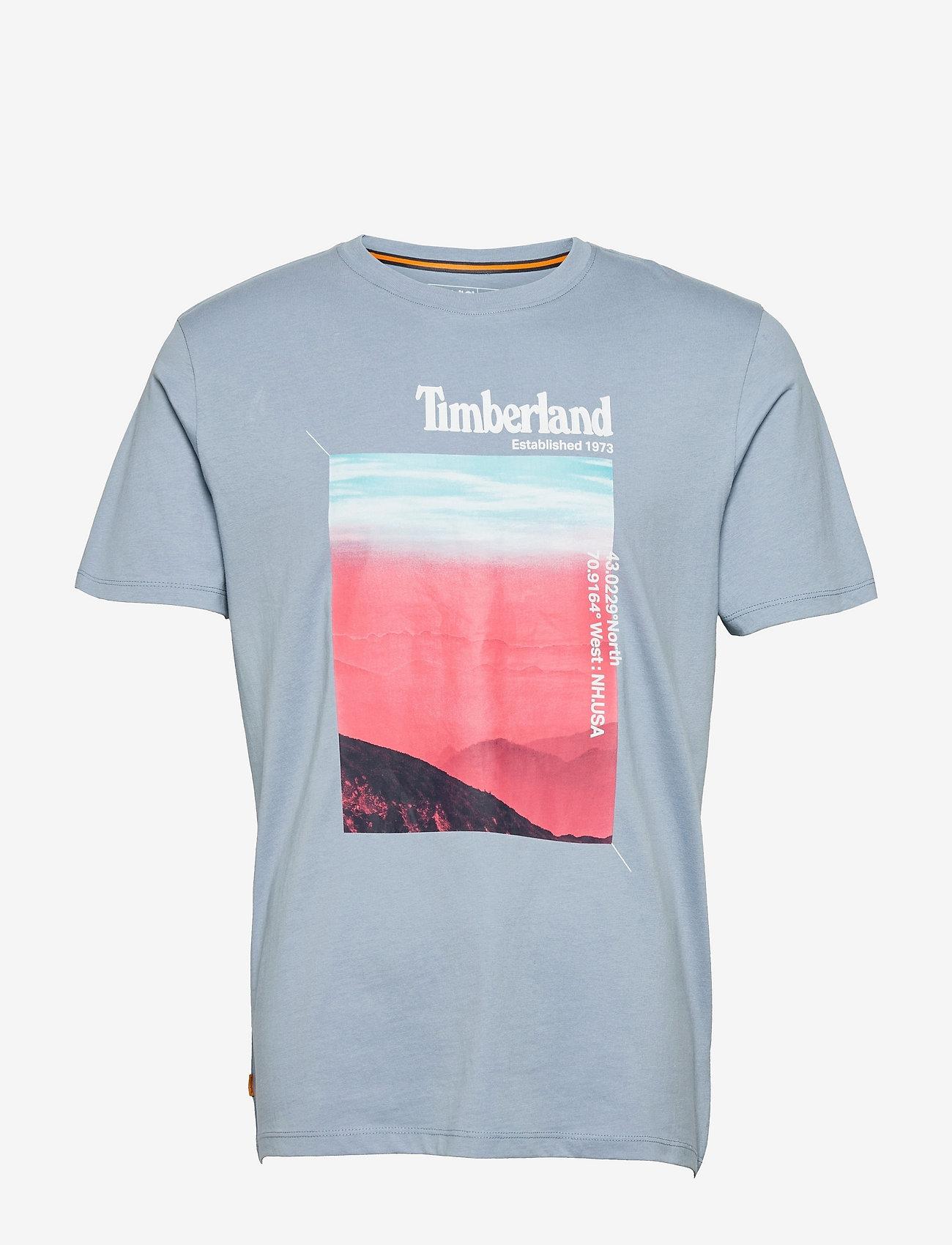 Timberland - Graphic Tee Horizon - t-shirts à manches courtes - ashley blue - 0