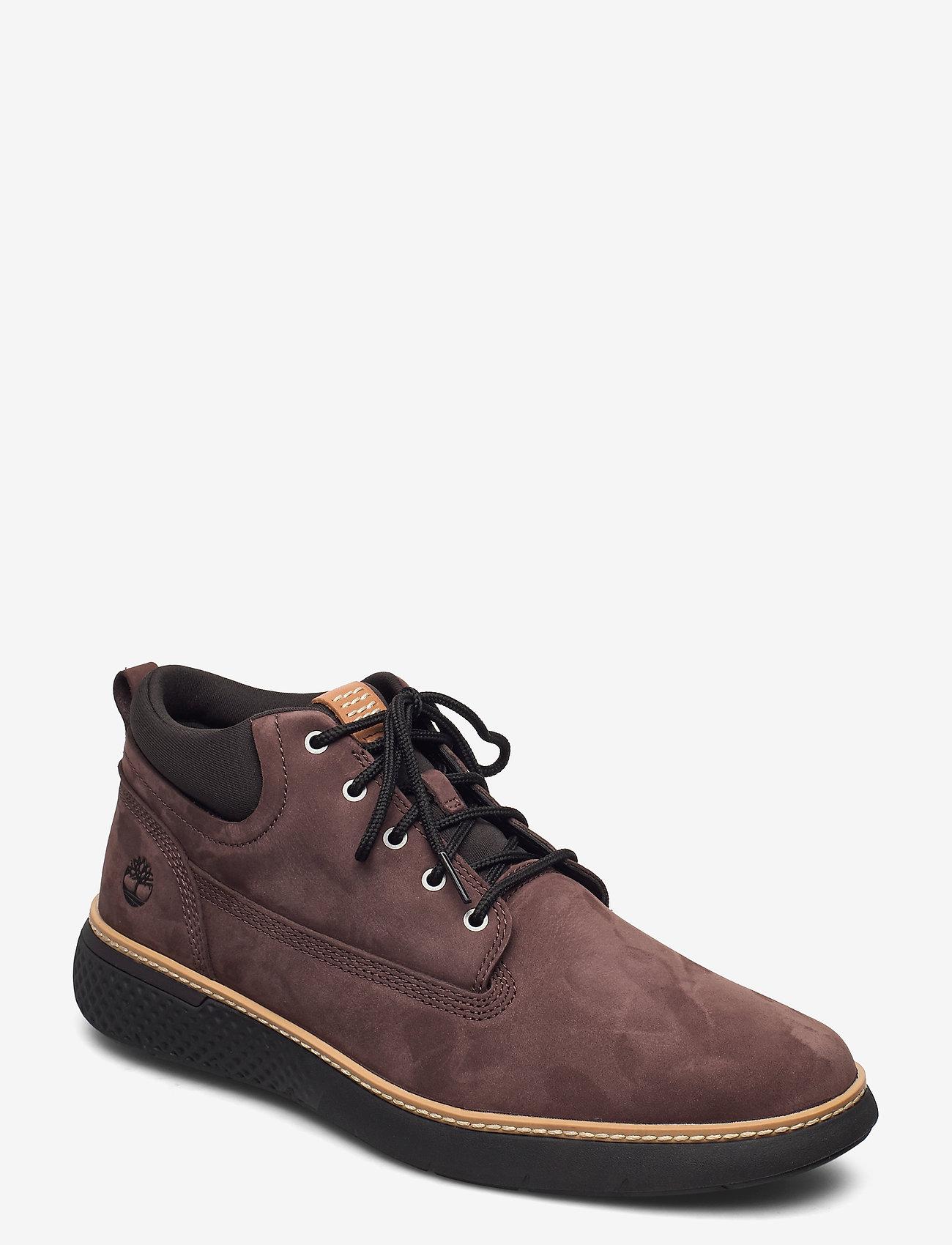 Timberland - CROSS MARK PT CHKA DKBRN - desert boots - soil - 0