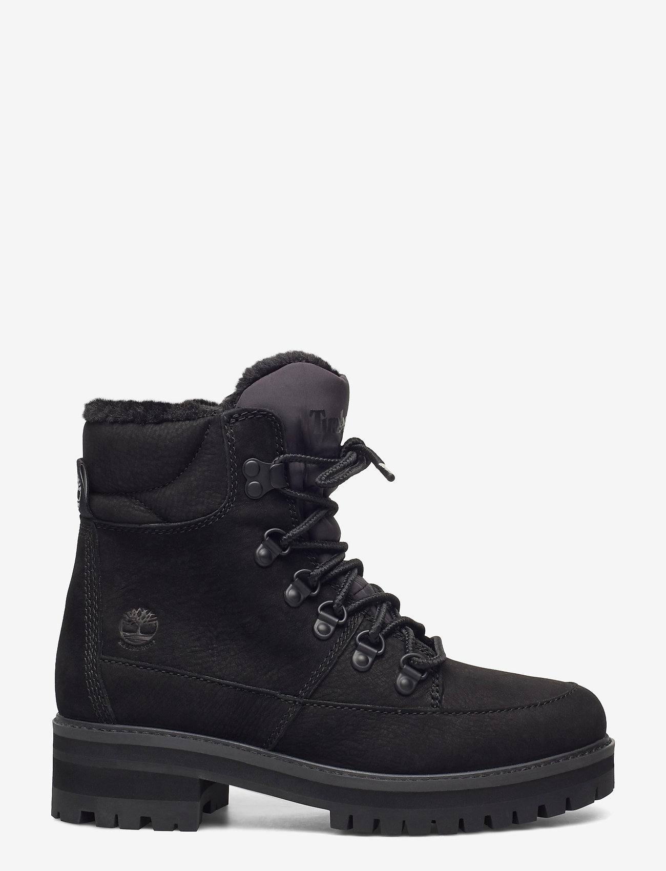 Timberland - Courmayeur Hiker WP Fur Lined - flat ankle boots - jet black - 1