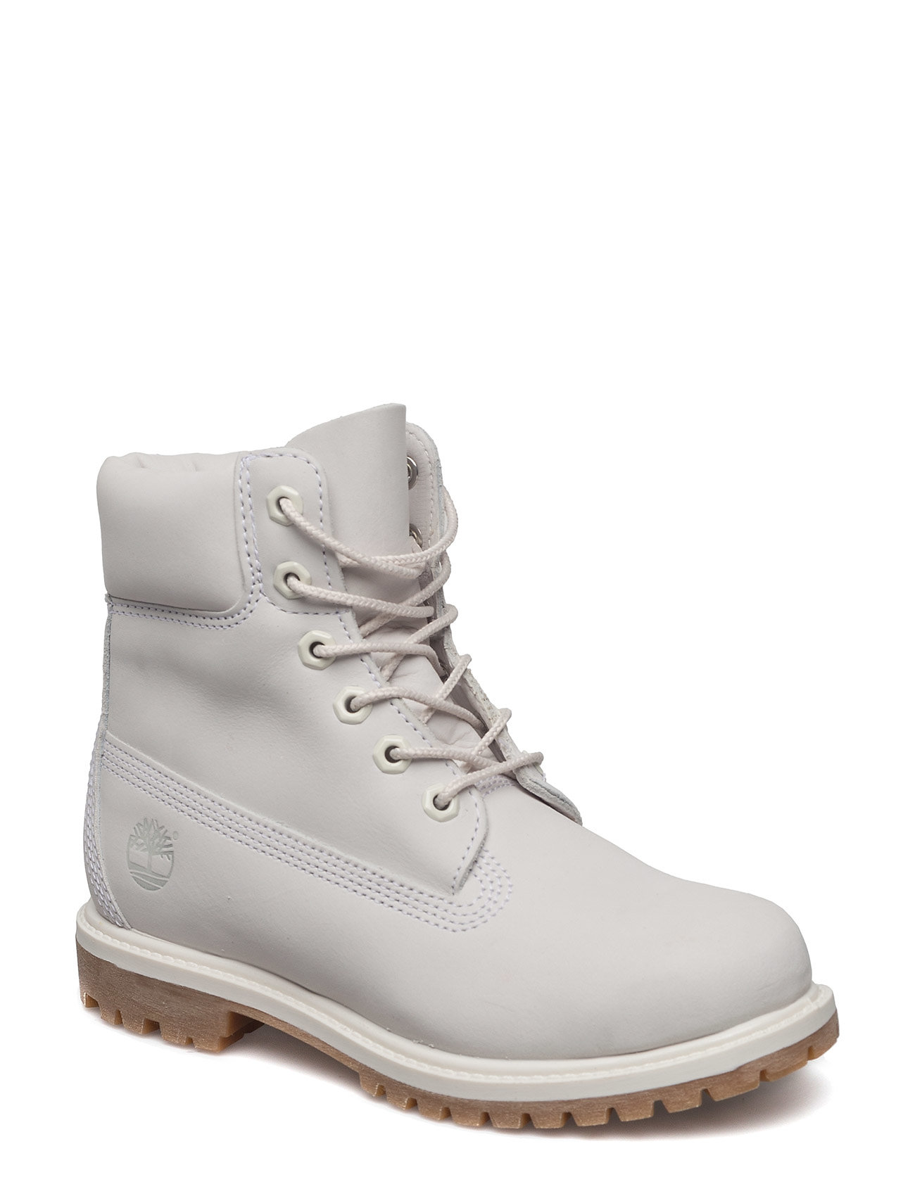 TIMBERLAND 6in Premium Boot - W Shoes Boots Ankle Boots Ankle Boots Flat Heel Weiß TIMBERLAND
