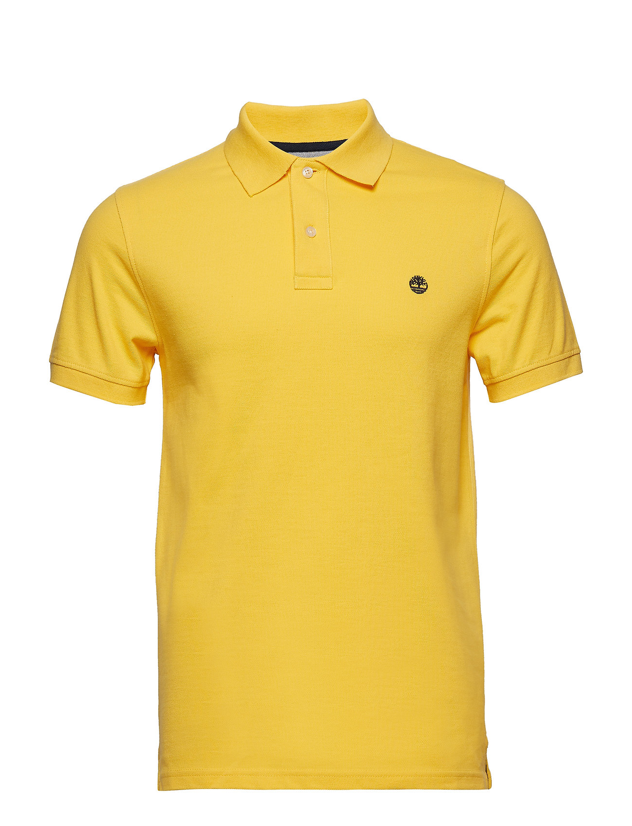 Timberland SS Millers River Pique Slim Polo - HABANERO GOLD