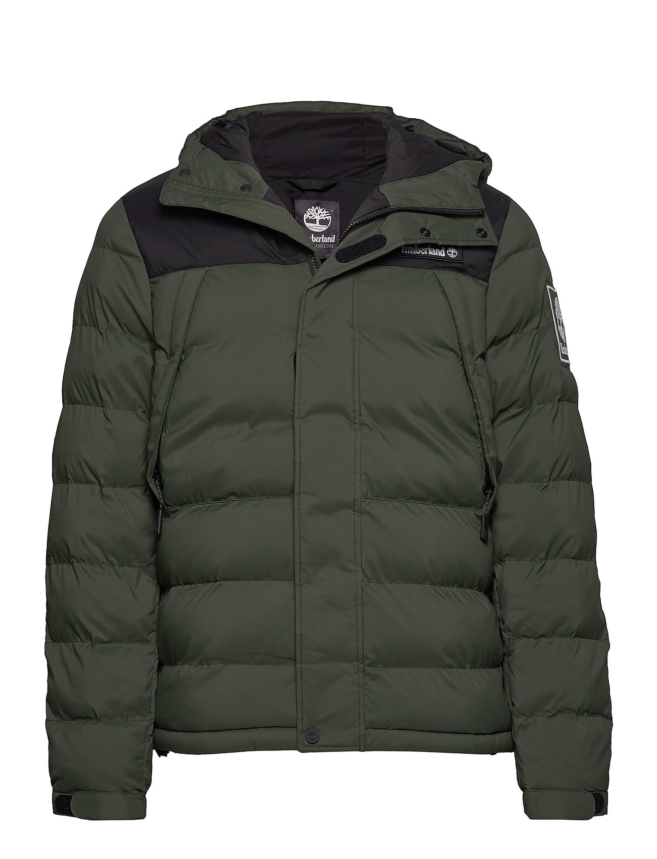 Timberland Outdoor Archive Puffer Jacket - DUFFEL BAG/BLACK