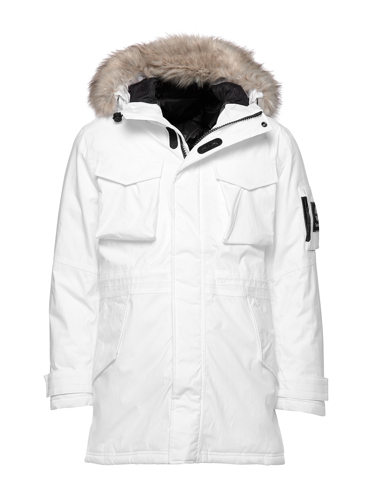 Timberland DV Nordic Edge Expedition Parka Jkt - WHITE
