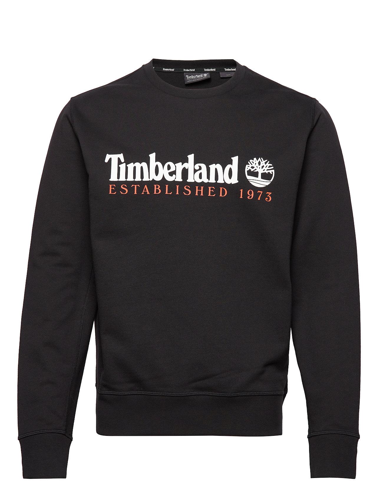 Timberland Essential Established 1973 Crew Sweat - BLACK