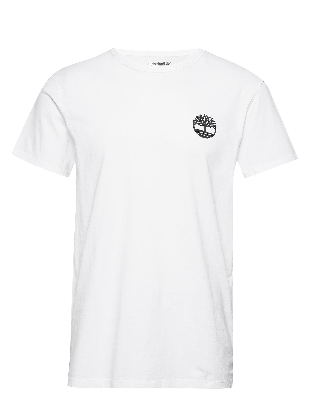 Timberland SS Back Logo Camo Tee - WHITE