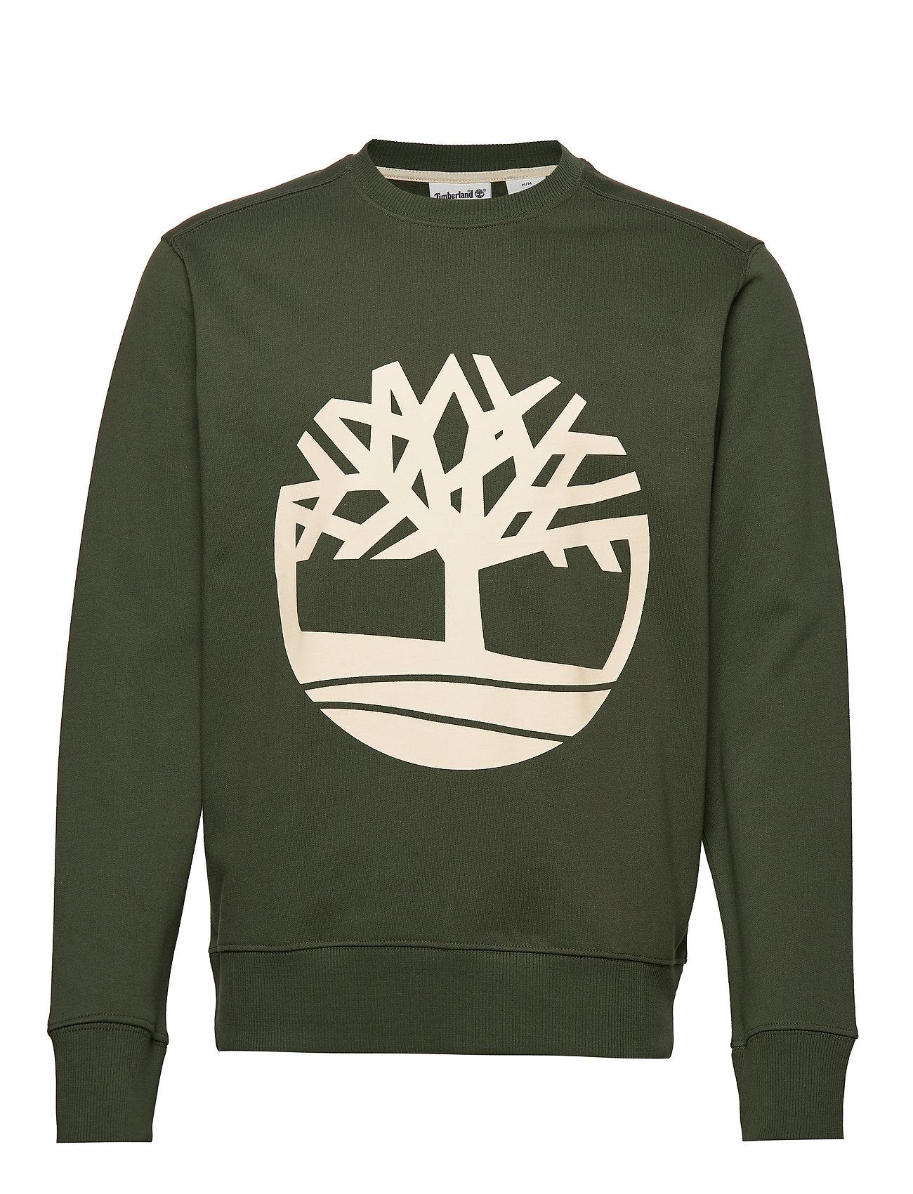 Timberland Core Tree Logo Crew Sweat (Brushback) - DUFFEL BAG