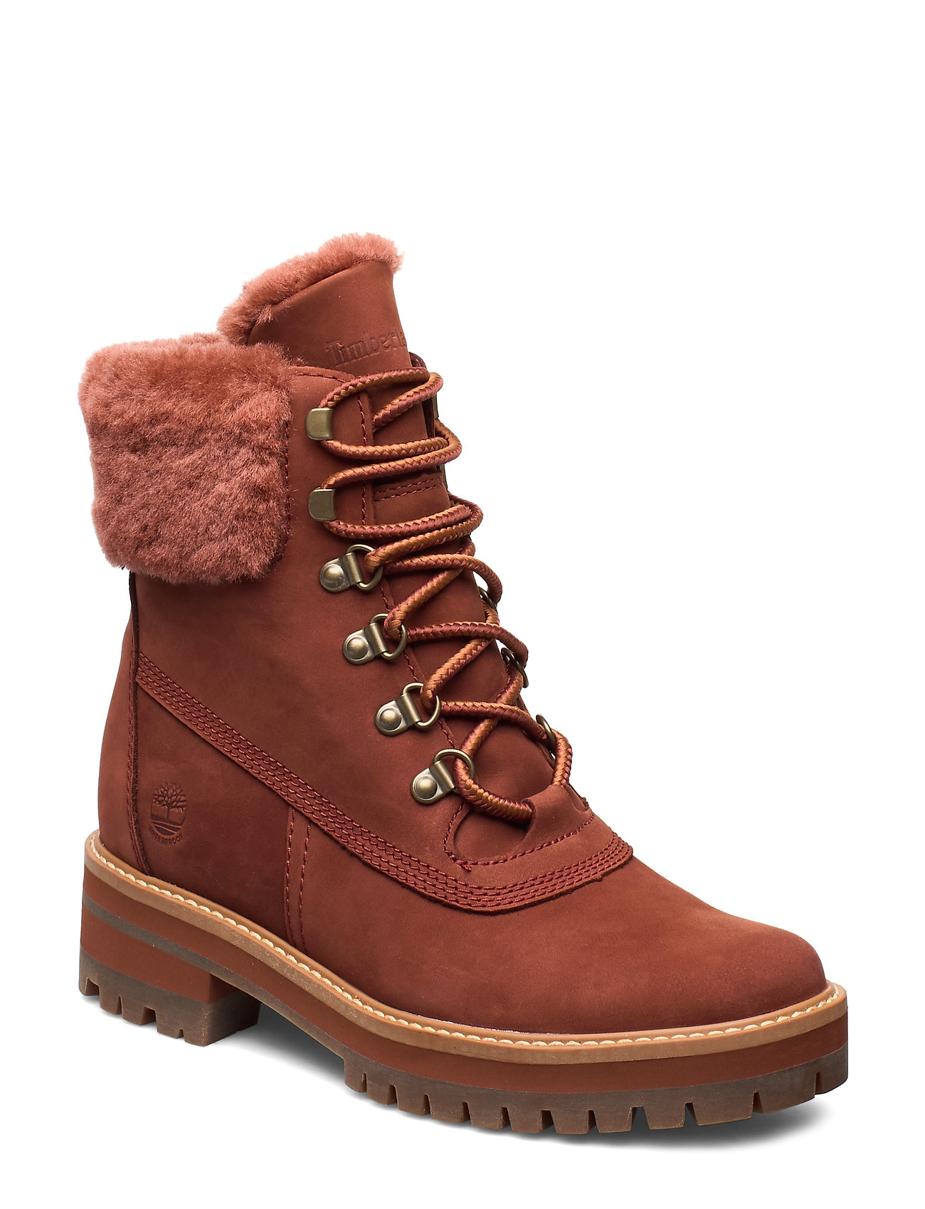 Image of Courmayeur Valley Wp 6in Shoes Boots Ankle Boots Ankle Boot - Flat Brun Timberland (3406173805)