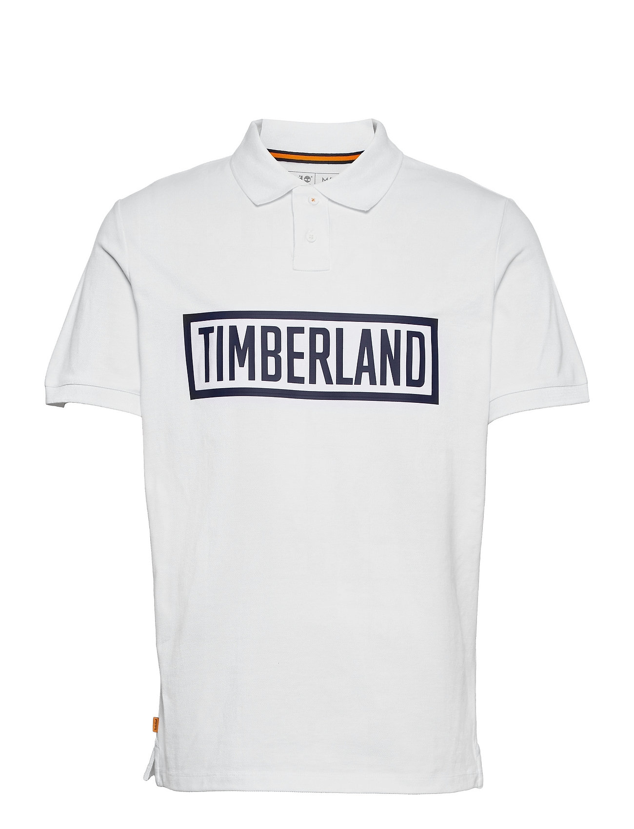 3d Polo Polos Short-sleeved Hvid Timberland