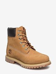 Timberland - 6in Premium Boot - W - platta ankelboots - yellow - 0
