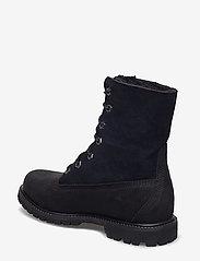 Timberland - Authentics Teddy Fleece WP Fold-Down - flade ankelstøvler - black - 2