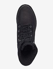 Timberland - Authentics Teddy Fleece WP Fold-Down - flade ankelstøvler - black - 3
