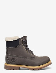 Timberland - 6IN PREM SHEARLING DK GRY - flat ankle boots - tornado - 1
