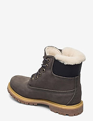 Timberland - 6IN PREM SHEARLING DK GRY - flat ankle boots - tornado - 2