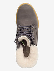 Timberland - 6IN PREM SHEARLING DK GRY - flat ankle boots - tornado - 3