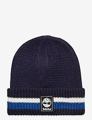 Timberland - STRIPE CUFFED BEANIE NAUTICAL BLUE - bonnet - nautical blue - 0