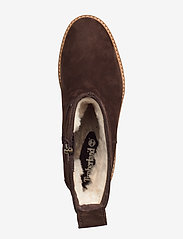 Timberland - Courmayeur Valley FauxFur - flat ankle boots - dark walnut - 3