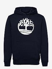 Timberland - Core Logo P/O Hood Bb - hoodies - dark sapphirewhite - 0