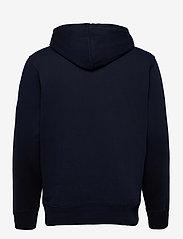 Timberland - Core Logo P/O Hood Bb - hoodies - dark sapphirewhite - 1