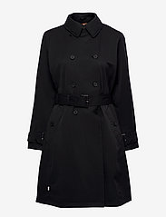 Timberland - Cont. Trench - trenchcoats - black - 0