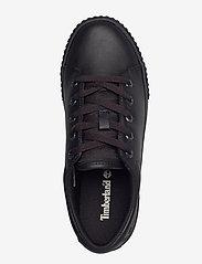 Timberland - SKYLA BAY LTHR OX BLK - lage sneakers - black - 3