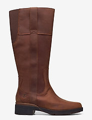Timberland - Graceyn Tall Side Zip WP - lange laarzen - saddle - 1