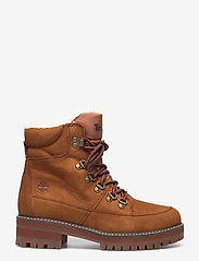 Timberland - Courmayeur Hiker WP Fur Lined - flat ankle boots - saddle - 1