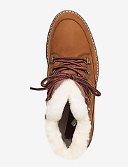 Timberland - Courmayeur Hiker WP Fur Lined - flat ankle boots - saddle - 3