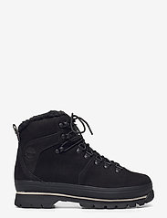 Timberland - Euro Hiker WP Fur Lined - flat ankle boots - jet black - 1