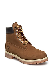 6 Inch Premium Boot - ORANGE