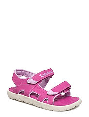 Perkins Row 2-Strap - FUSCIA ROSE