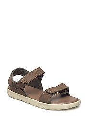 NUBBLE SANDAL LEATHER 2 - CANTEEN