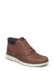 Bradstreet Chukka Leather - BROWN