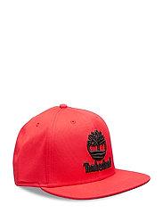 Flat Brim Baseball Cap - BARBADOS CHERRY