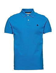 SS Millers River Pique Slim Polo - INDIGO BUNTING