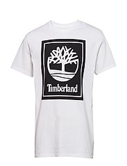 YCC SS tee stack logo eclectic - WHITE