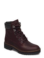 London Square 6in Boot - DARK PORT