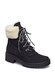 COURMAYR 6IN SHEARLING - BLACK