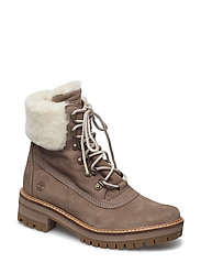 COURMAYR 6IN SHEARLING - TAUPE GRAY