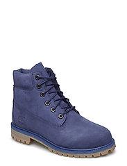 6 In Premium WP Boot - DARK BLUE NUBUCK