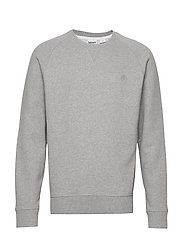 Exeter River Basic Crew  - MEDIUM GREY HEATHER