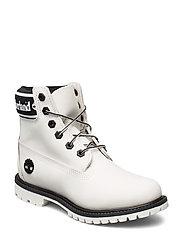 6in Premium Boot L/F- W - WHITE