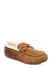 Torrez Slipper Moccasin - RUST