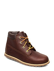 Pokey Pine 6In Boot with - DARK RUBBER