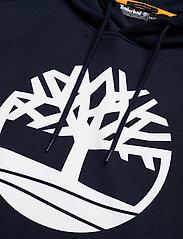 Timberland - Core Logo P/O Hood Bb - hoodies - dark sapphirewhite - 2