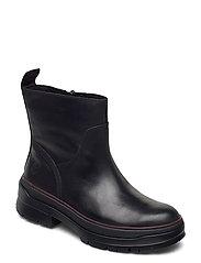 Malynn Warm Lined Side Zip WP - JET BLACK