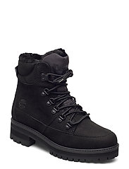 Courmayeur Hiker WP Fur Lined - JET BLACK