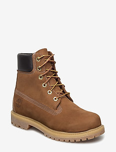 6in Premium Boot - W - flat ankle boots - brown